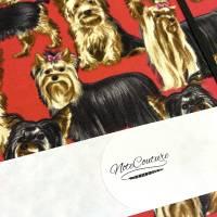 """Notizbuch Tagebuch Kladde """"Yorkshire Terrier"""" A5 Hardcover stoffbezogen Herrchen Frauchen Geschenk Fan Fanartike Bild 8"""