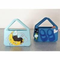 Geburt Taufe Geldgeschenke Gastgeschenk Geschenkverpackung Baby Junge Geschenktasche (2 St.) Bild 1