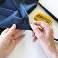 WICKELHOSE FRAU in verschiedenen Stoffen: Wolle, Leinen, Baumwolle Bild 7