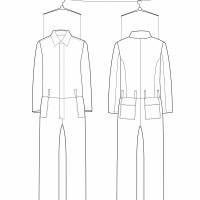 MÄNNER OVERALL Einteiler, Jumpsuit, in verschiedenen Stoffen Bild 9