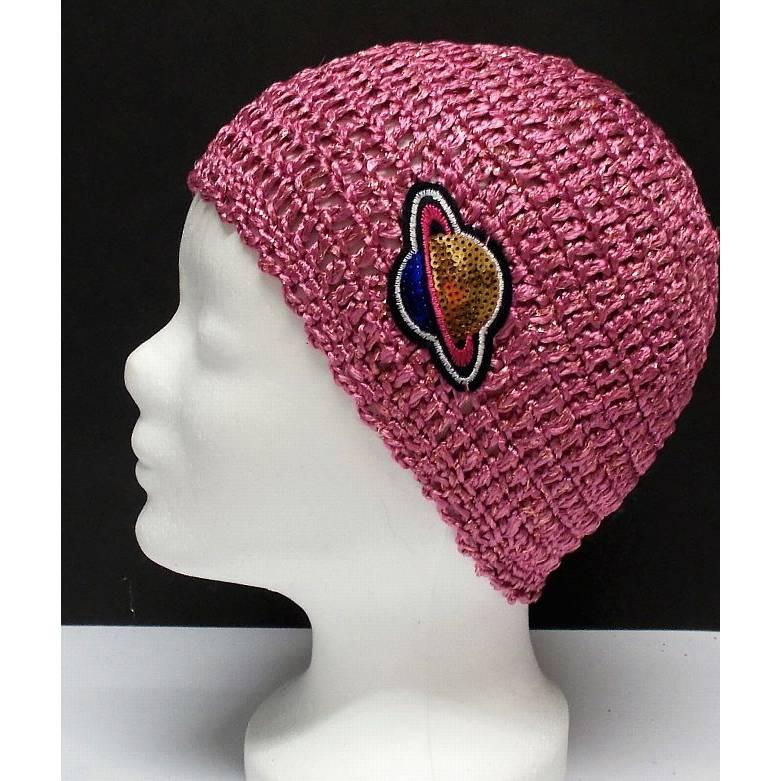 Mütze, modern, Handarbeit, altrosa, Damenmütze, Mützen Bild 1