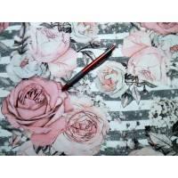 Romantischer Rosen-Sweat Großes Reststück Bild 1