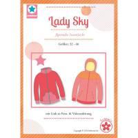 Papierschnittmuster Lady Sky Bild 1