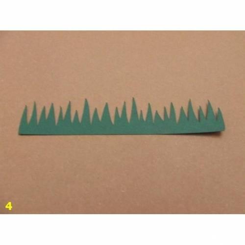Gras - Stanzteile - Scrapbooking