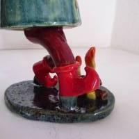 Räuchermann Rumpelstilzchen, Keramik ,Skulptur Märchenfigur Zwerg Bild 6