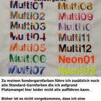 Hundehalstuch pink mit Namen und Motiv personalisiert / bestickt - über 200 Hundemotive - viele Schriftarten Bild 3