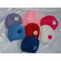 Mütze, verschiedene Farben, Handarbeit, Puppen der Größe 42 cm Bild 1