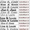 Hundehalstuch orange mit Namen und Motiv personalisiert / bestickt - über 200 Hundemotive - viele Schriftarten Bild 2