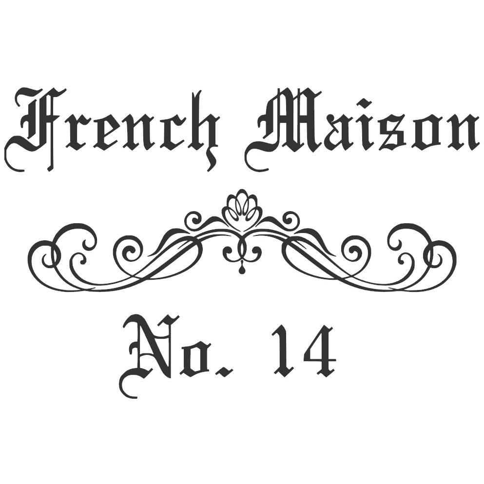 """Wandtattoo - Möbeltattoo - Vinyl - Vintage - """"French Maison"""" - 6127 Bild 1"""