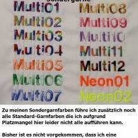 Hundehalstuch altrosa mit Namen und Motiv personalisiert / bestickt - über 200 Hundemotive - viele Schriftarten Bild 3