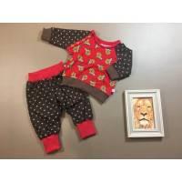 Baby- Langarmshirt und Pumphose, einzeln oder im Set, Gr. 62