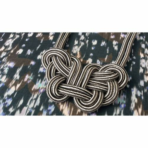 """Knotenkette """"Stripes all over"""""""