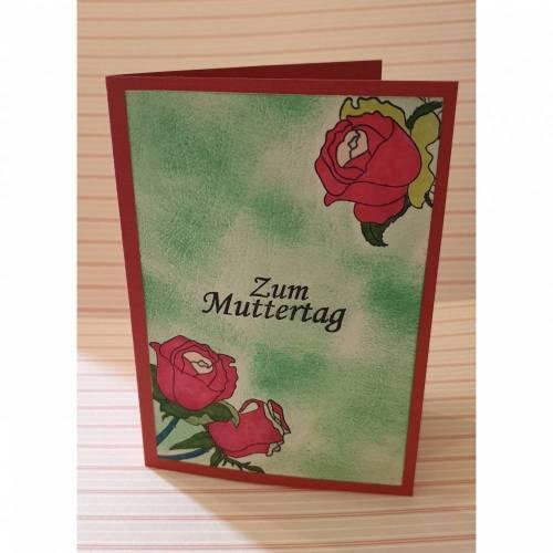 Zum Muttertag - Gratulationskarte