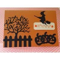 Halloweenkarte - Hexe Bild 1