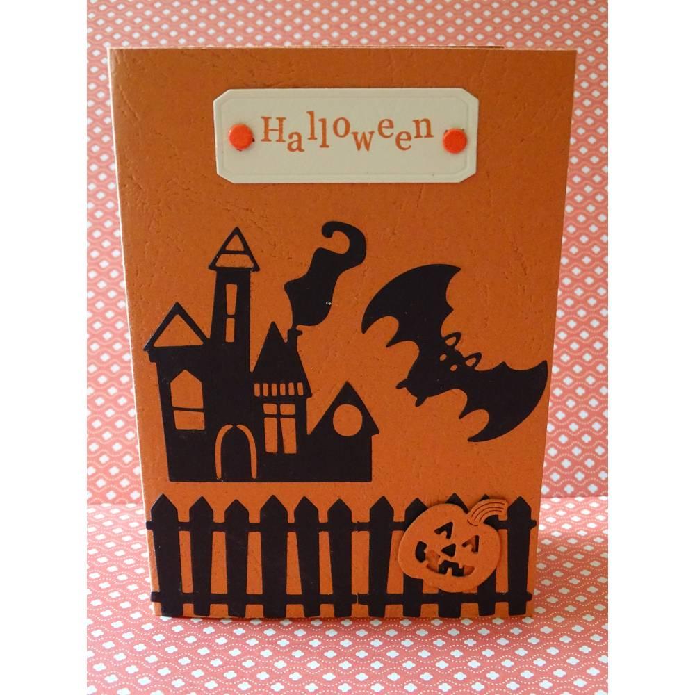 Halloween - Karte - gruselig Bild 1
