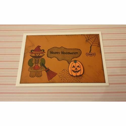 Halloween - Einladungskarte