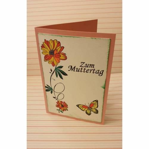 Zum Muttertag - Muttertagskarte