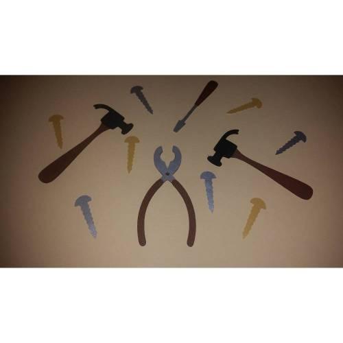 Werkzeuge - Handwerker - Stanzteile - Scrapbooking