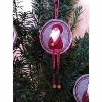 Wichtel Weihnachts-Deko  Advents-Geschenk  - Jeder Deko-Anhänger ein UNIKAT Bild 1