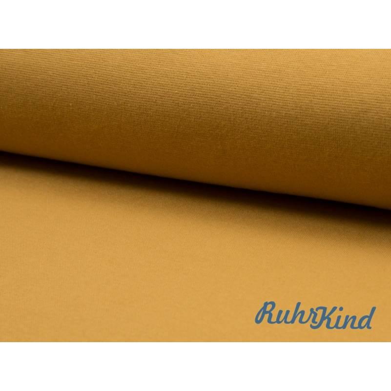 0,5m Bündchen Senf Bild 1