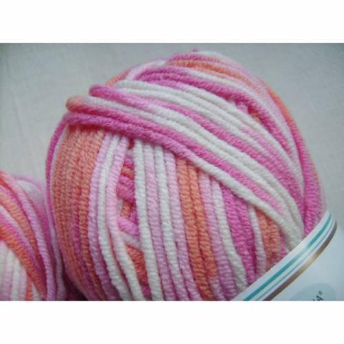 Strickgarn Cotton soft color Fb. 168, Baumwolle-mischgarn, Nadelstärke 3-4