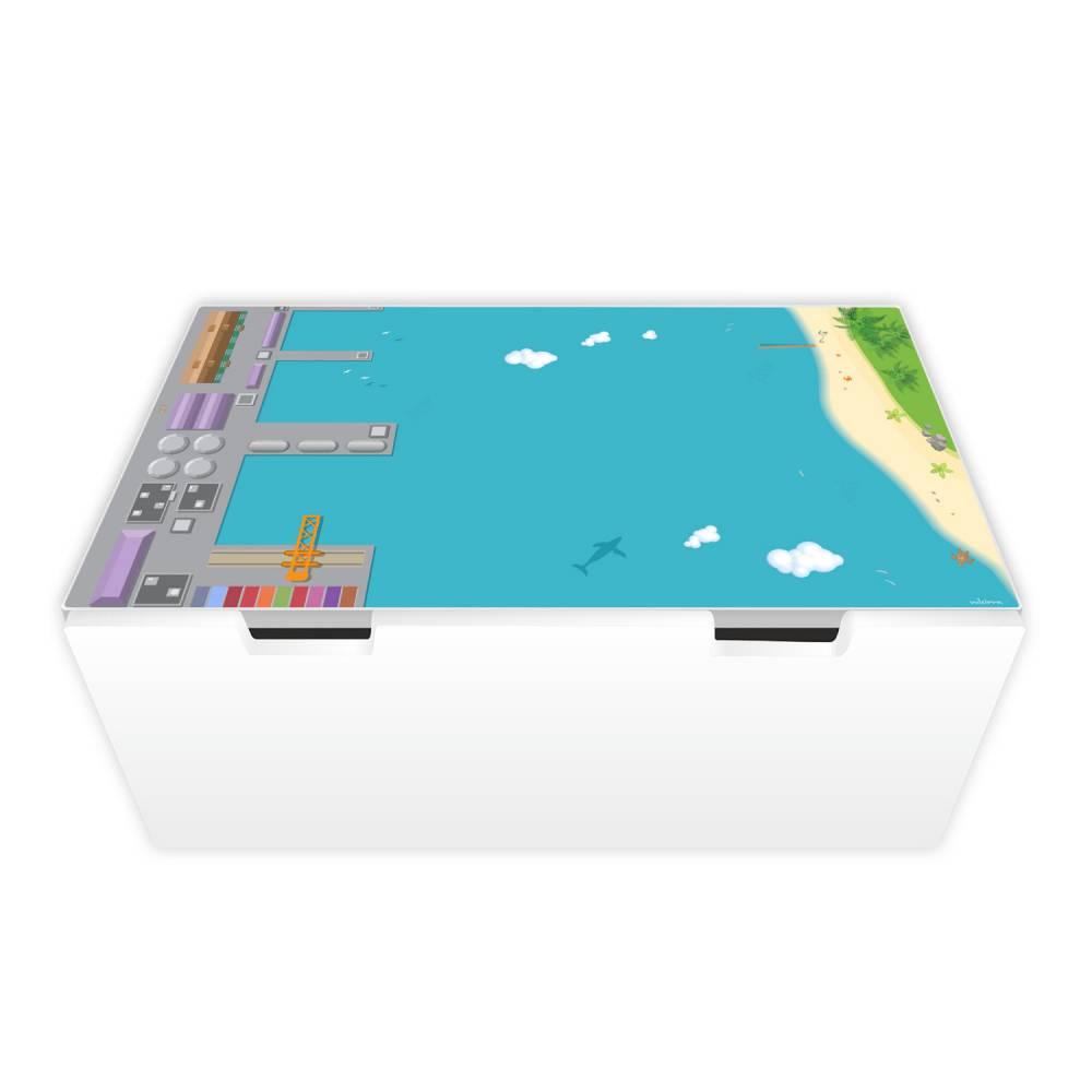 Spielfolie Möbelfolie für STUVA Hafen (Möbel nicht inklusive) nikima Bild 1
