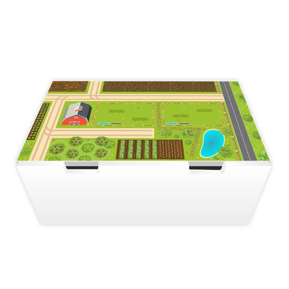 Spielfolie Möbelfolie für STUVA Bauernhof (Möbel nicht inklusive nikima Bild 1