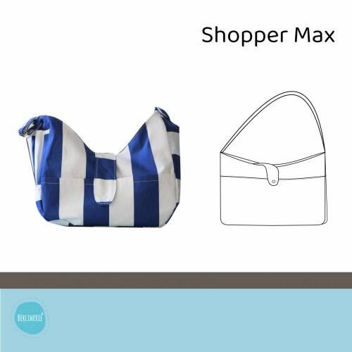 Shopper Max Ebook mit Schnittmuster und Nähanleitung