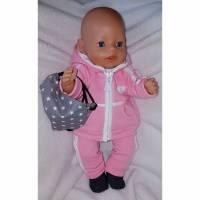 6 tlg.Puppenset für Gr. 40 -43cm Puppenkleidung Outfit Sportoutfit Einzelstück Bild 1