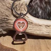 Schlüsselanhänger Flaschenöffner ' Bierbauchträger ' Bild 2