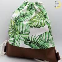 Turnbeutel Tropical Bild 1