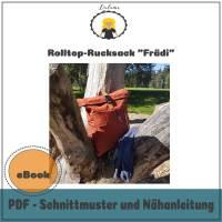Nähanleitung Rolltop-Rucksack Frädi Bild 1