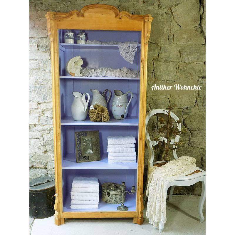 antiker Küchenschrank oder Bücherschrank  Bild 1