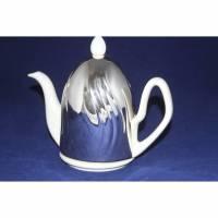Keramik Kanne Kaffeekanne mit Wärmehaube Vintage Bild 1