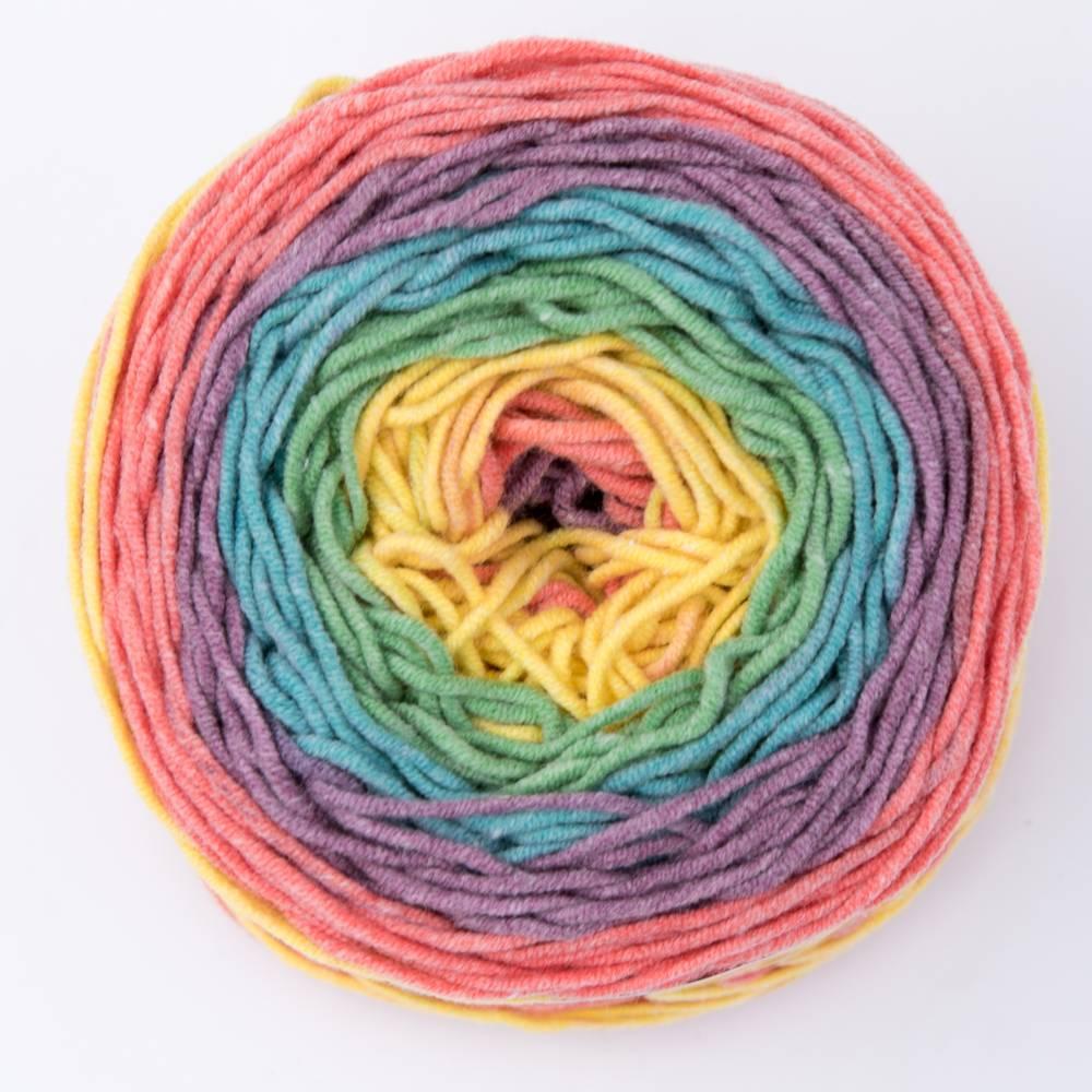 Rolly Soft - Farbverlaufsbobbel - 100 g - 220 m - Farbe 07  Bild 1
