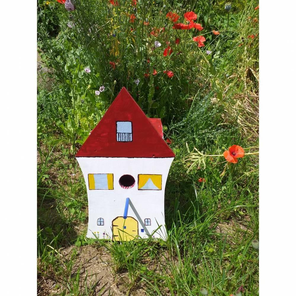 Vogelhaus Nistkasten Bild 1