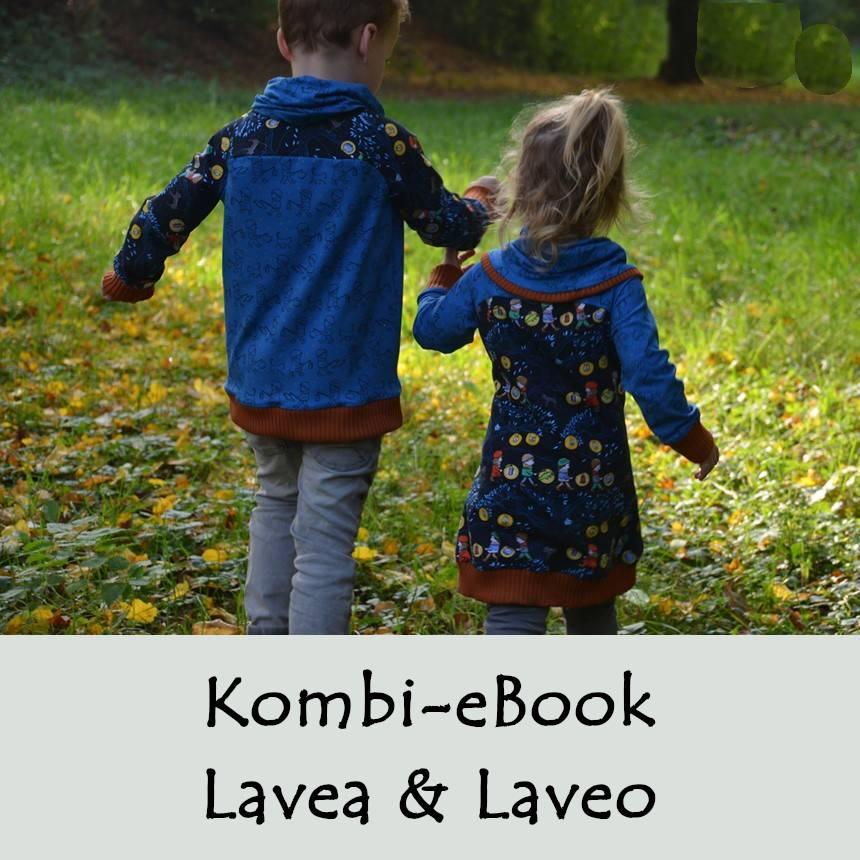 Kombi eBook Pulli Laveo & Kleid Lavea Gr. 80-164 Bild 1