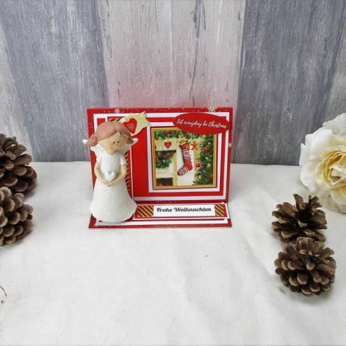 Schutzengelkarte, Glücksbringer, Weihnachtsgeschenk,Grußkarte, Schutzengel 5