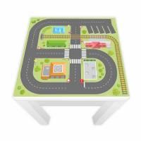 Spielfolie für LACK Tisch Stadtleben 55x55cm (Möbel nicht inkl.)  Bild 1