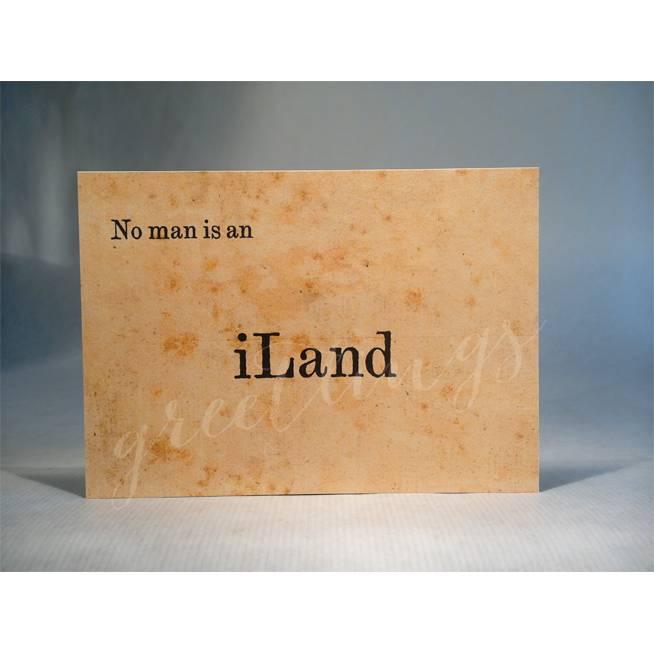 Postkarte A6, iLand Bild 1