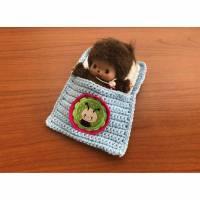 Kleiner Käfer  Puppenbettchen - Schlafsack für Bebichhichi 13 cm    Bild 1