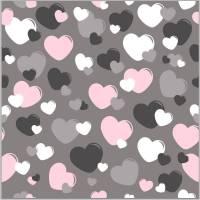 Herzen auf anthrazit Bild 1