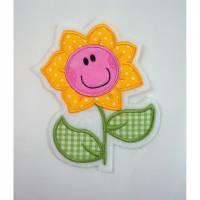 Blumen Applikation Bild 1