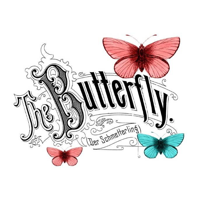 Potch-Motiv - Foto-Transfer - Vorlage - Schmetterling - Vintage - Shabby - 30010 Bild 1