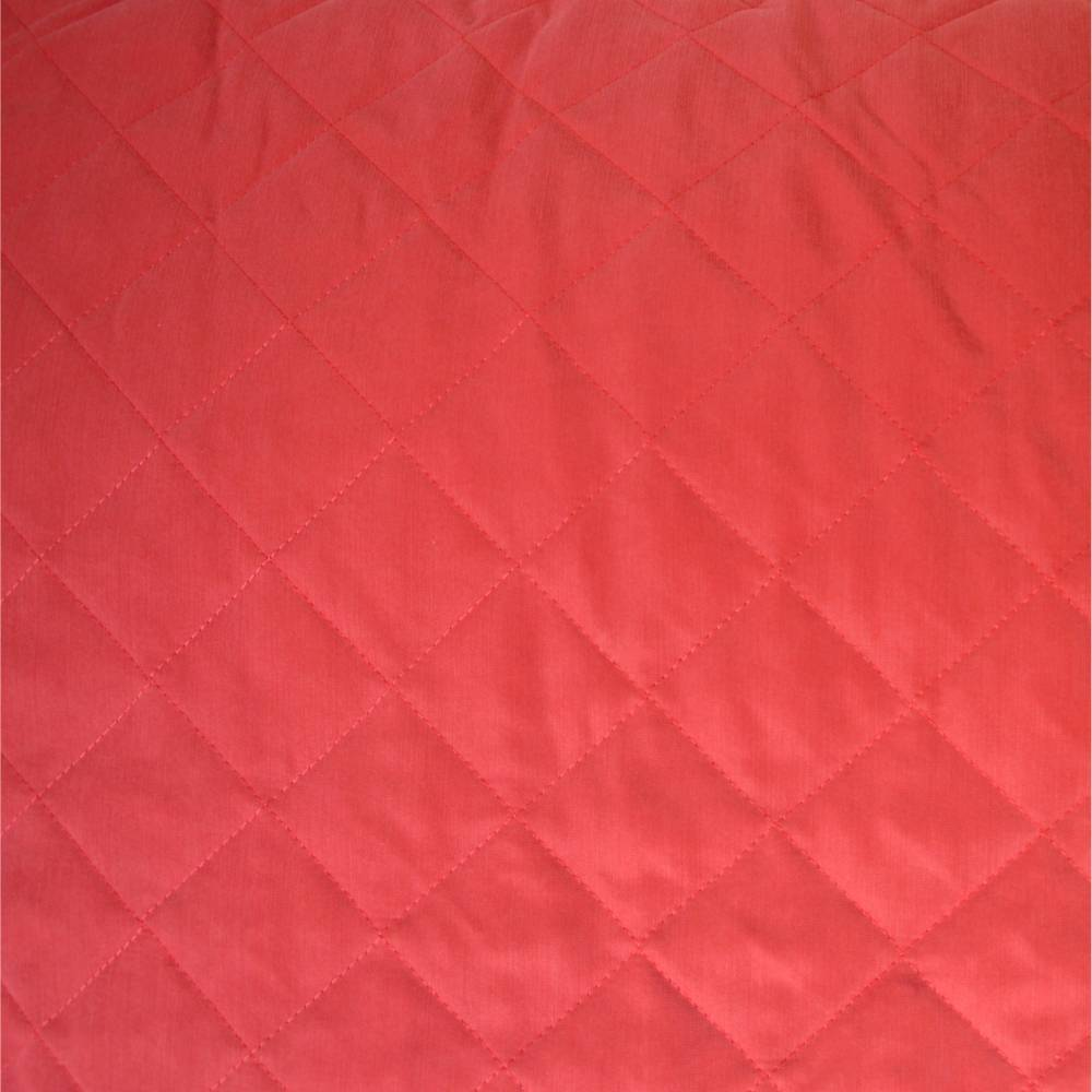 Stoff Steppstoff wattiert rot Bild 1
