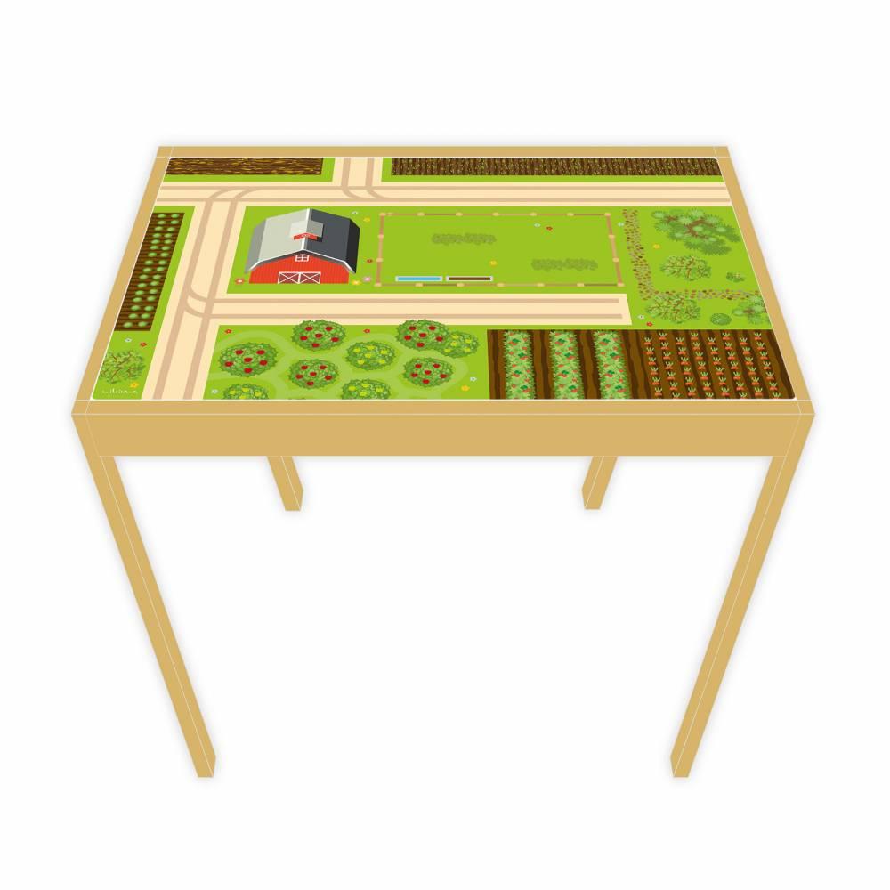 Spielfolie für LÄTT Spieltisch Bauernhof 63 x 48 cm (Möbel NICHT INKLUSIVE) Bild 1