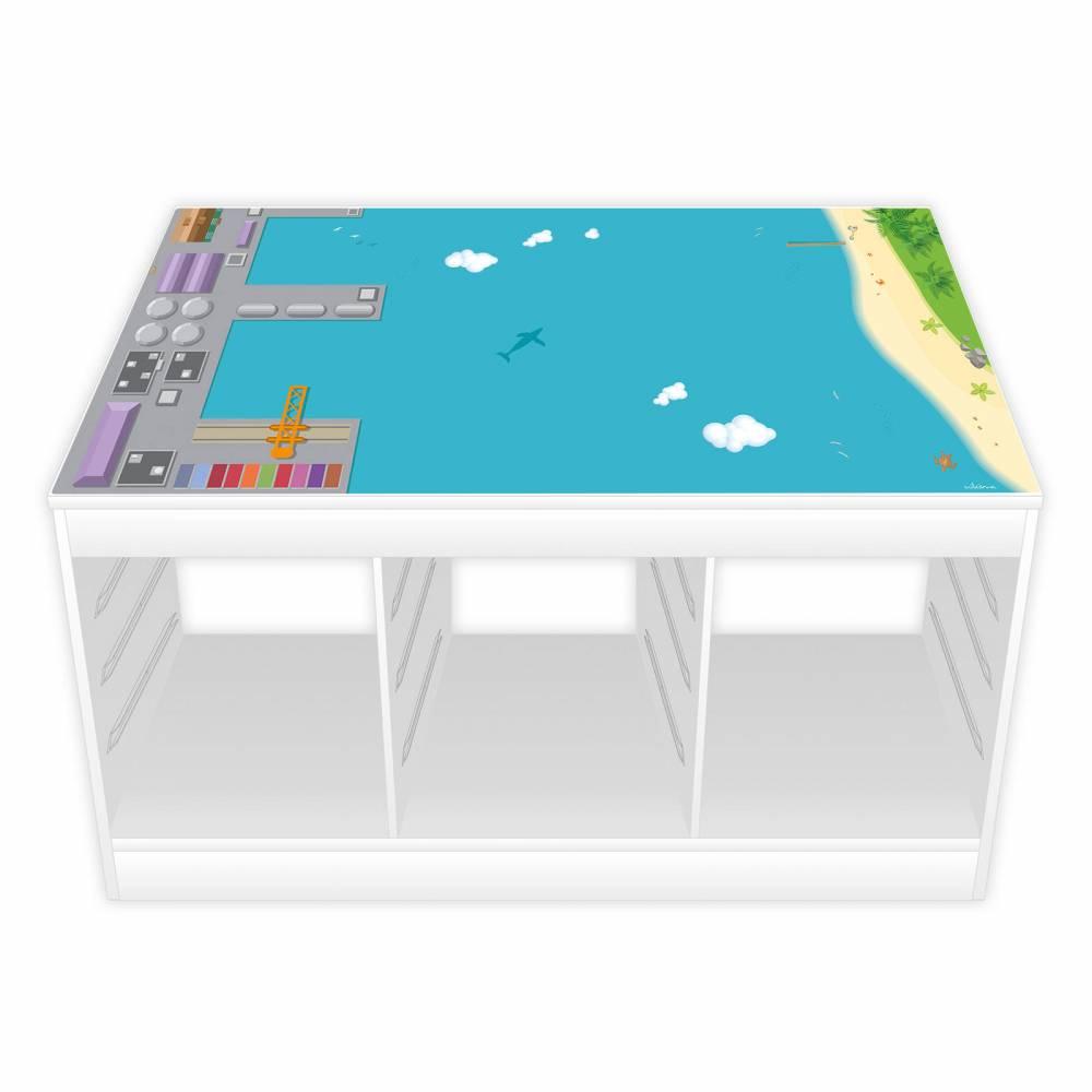 Spielfolie für TROFAST Regal Hafen (Möbel NICHT INKLUSIVE) Bild 1