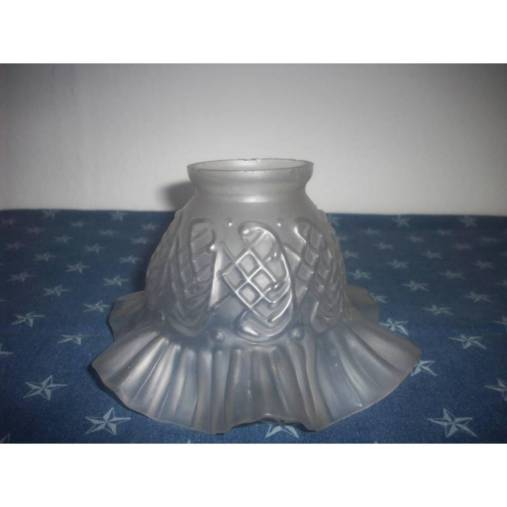 alter Lampenschirm aus Glas 26 Bild 1