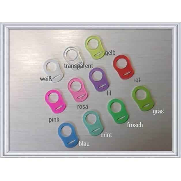 Silikonring für Schnullerkette Bild 1