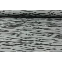 """13,90EUR/m Sweat """"Wire"""" grau von Petra Laitner Bild 1"""
